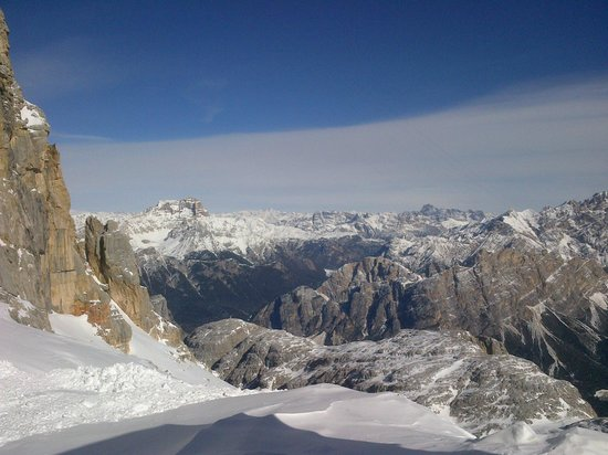 Menardi Hotel : best ski slope: up to Ra Valles