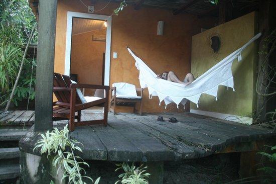 Villa das Pedras Pousada: entrada do quarto
