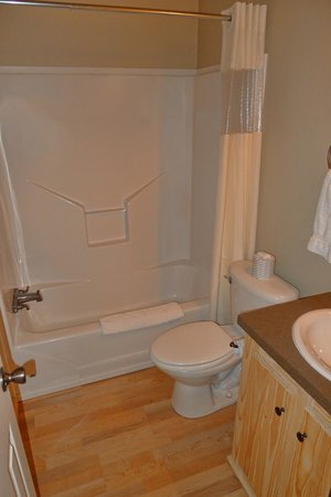 Hill Country Cottage and RV Resort: Bathroom in Cottage