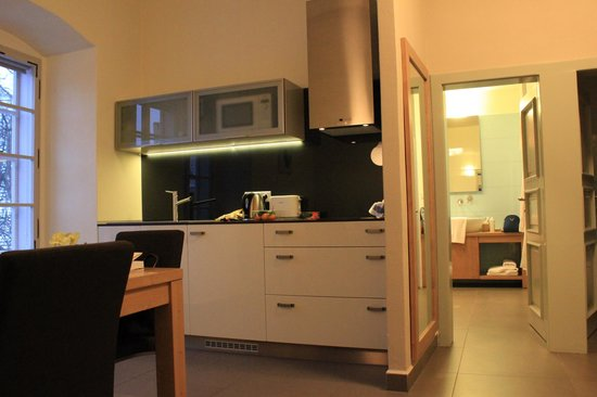 Pension Athanor: Kitchen
