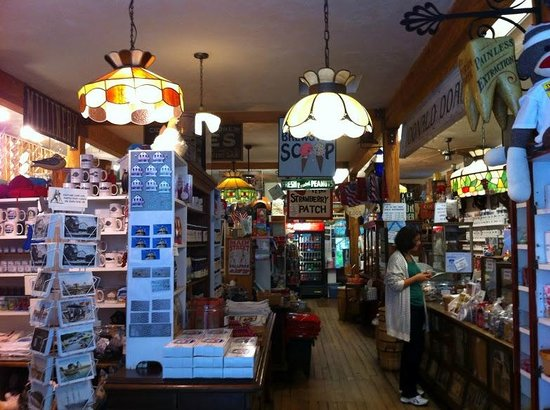 Brewster Store: Inside of the Brewster General Store