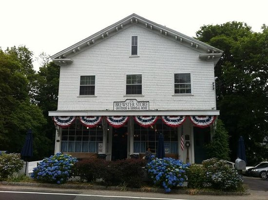 Brewster Store: Exterior of the Brewster General Store