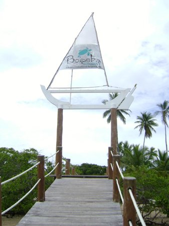 Pousada Boipeba Eco Lodge: Pier
