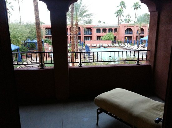 Omni Scottsdale Resort & Spa at Montelucia: View from our Patio