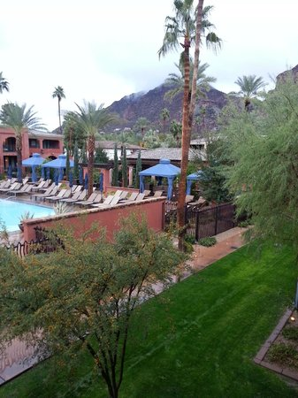 Omni Scottsdale Resort & Spa at Montelucia: Camleback Moutain