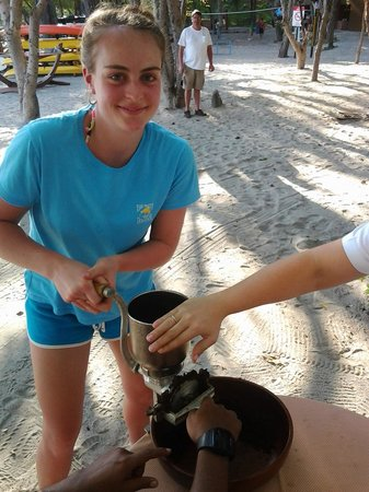 The Beach Chocolate Factory: you get to help with the grinding of the cocoa paste and make your own treats!