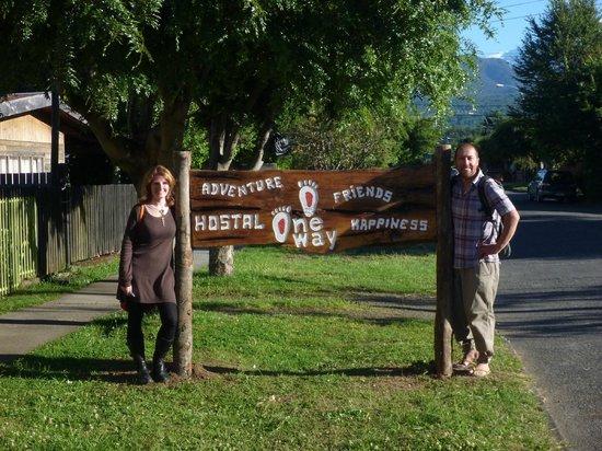 Hostel One Way: Geyson and Sandra