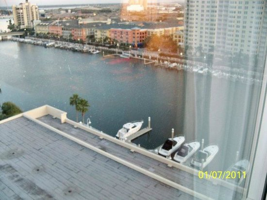 Tampa Marriott Waterside Hotel & Marina: another view