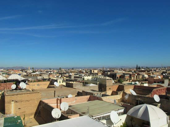 Hotel du Tresor: Views from the rooftop terrace