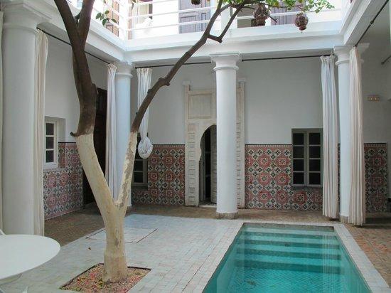 Hotel du Tresor: Pool Area