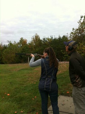 The Omni Homestead Resort: Skeet Shooting
