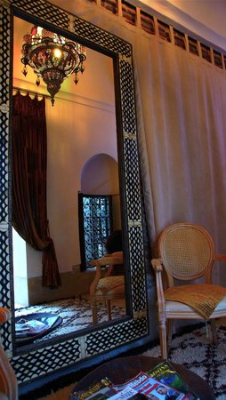 Riad Dar Oulhoum: room on the ground floor