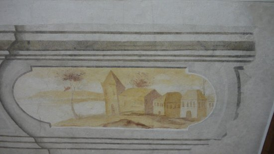 Olomouc Archdiocese Museum : Роспись на стенах