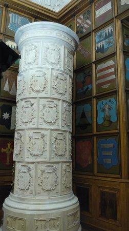 Olomouc Archdiocese Museum : Зала с гербами