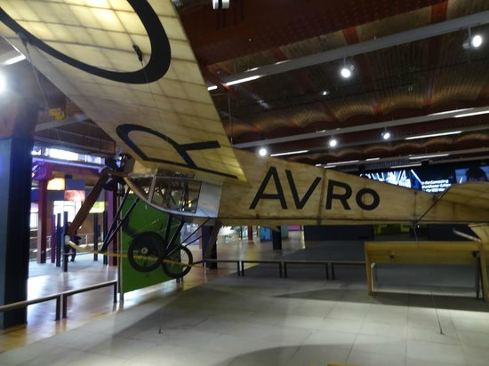 D Exhibition Manchester : Science exhibition avro early plane prototypes picture