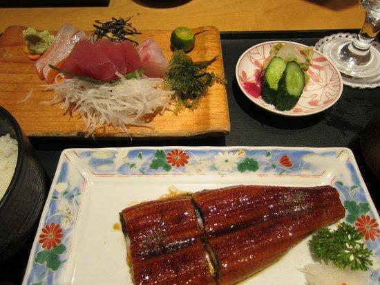 Yumeya Kihei: うなぎ定食