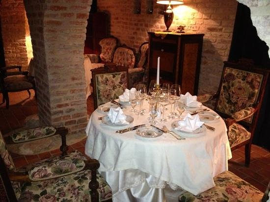 Hotel Antonius: very nice, delicate, romantic atmosphere in the restaurant