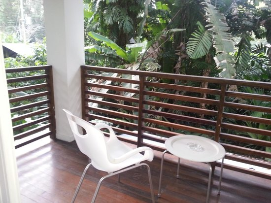 Le Cameleon Boutique Hotel: Balcony on 2nd floor