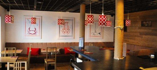 Port of Siam at Newhaven : Restaurant interior