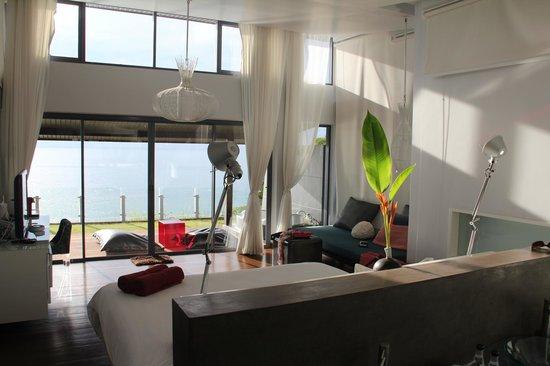 The Houben Hotel: Vue de la chambre