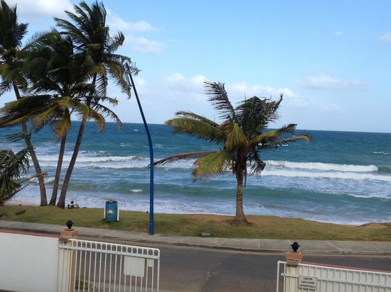 Luquillo Sunrise Beach Inn: View from our balcony