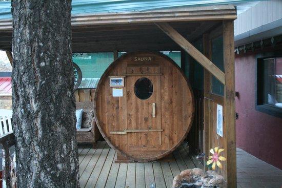 Sitzmark Chalet Inn: Sauna