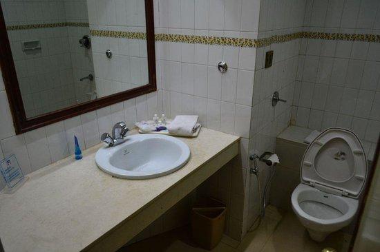 Nahar's Nilgiris Hotel: Toilet