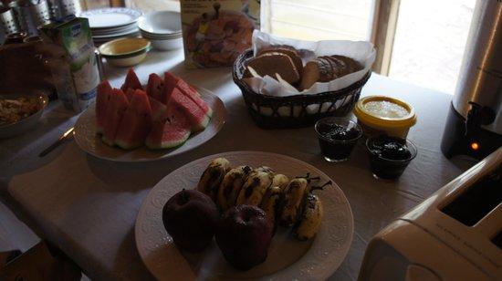 The Colibri Hill Resort : Desayuno