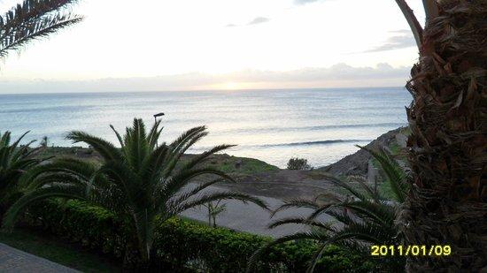 Lopesan Villa del Conde Resort & Corallium Thalasso: Widok z tarasu