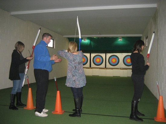 Potters Resort: Archery no queue and free!