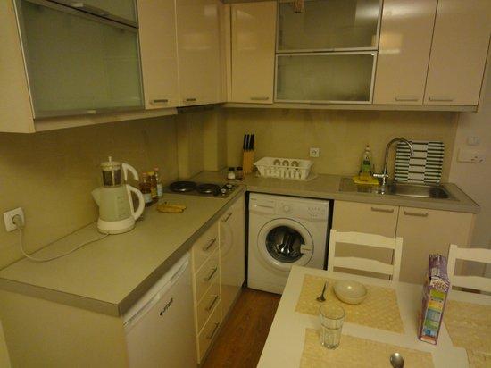 Chef Apartments: angolo cottura