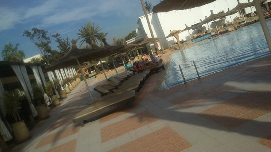 Royal Mirage Agadir Hotel: Pool area