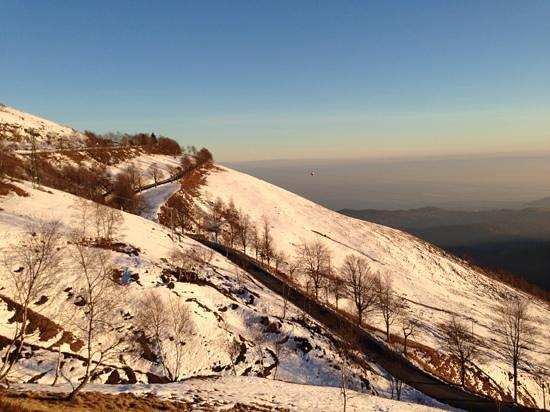Hotel Bucaneve : vista valle