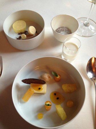 Schauenstein Schloss Restaurant Hotel: Dessert