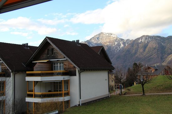 Swiss Holiday Park: Aussicht vom Zimmer 221