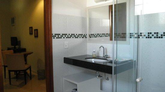 Hotel - Pousada Oasis Park: Banheiro Suite