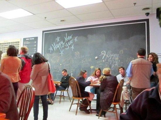 Gelati Celesti Ice Cream Makers: Funky blackboards