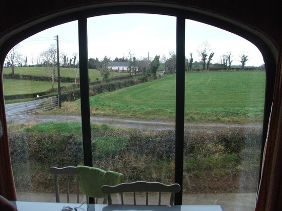 Lisnacurran Country House B&B : view from the living area