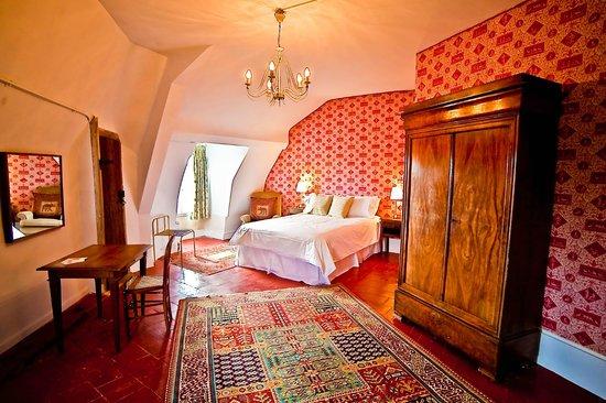 Chateau de La Celle Guenand: Bedroom 5 Ambassdeur