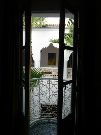 Riad Vert Marrakech: view from room