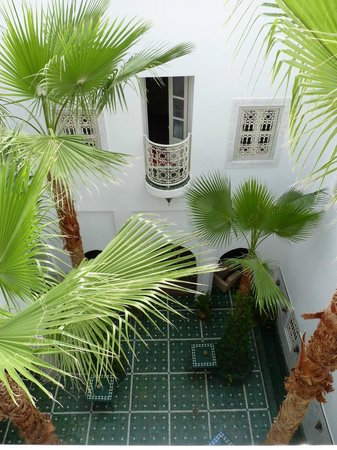 Riad Vert Marrakech: our room from the other side