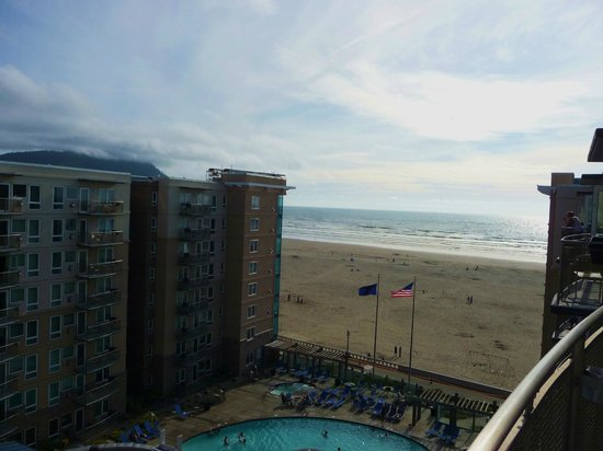 WorldMark by Wyndham Seaside: Our view from the room