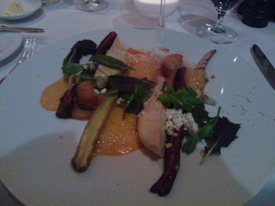 Restaurant Le Faubourg: Coq Au Vin - tasty, balanced and surprising - excellent