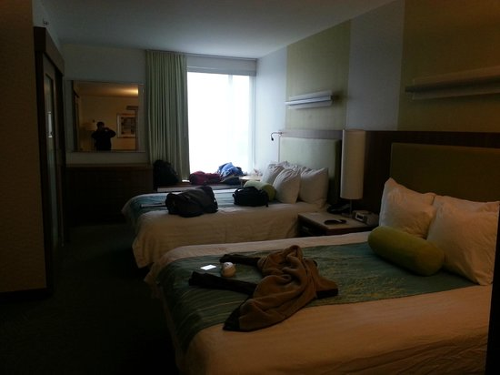 SpringHill Suites Philadelphia Airport/Ridley Park : fifth floor queen suite
