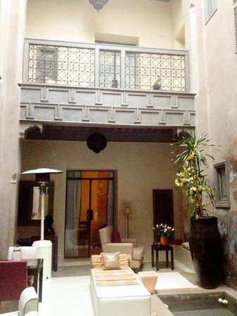 Riad Dar One: first floor.