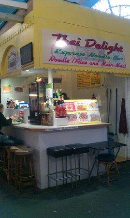 Thai Delight: Good market snack bar.