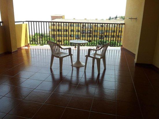 Best Alcazar: terraza