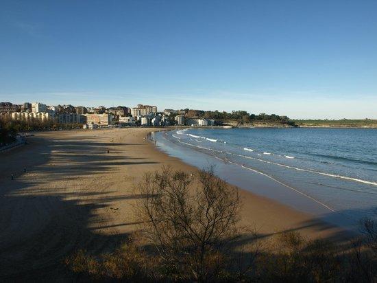 Playa Primera de El Sardinero: Primera playa de El Sardinero