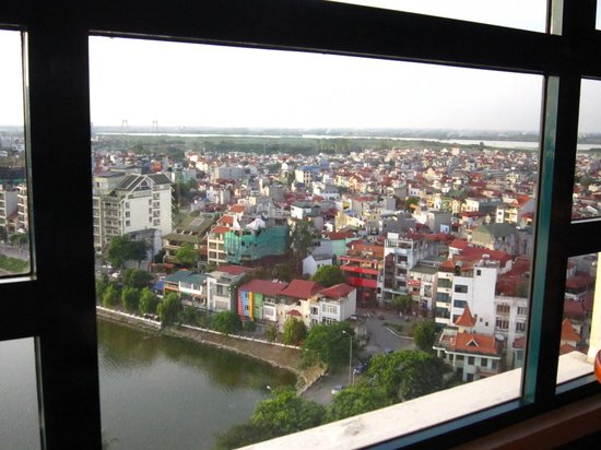 Sheraton Hanoi Hotel: View from the Exec Floor
