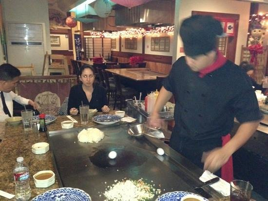 Koki's Japanese Teppan House: Chef